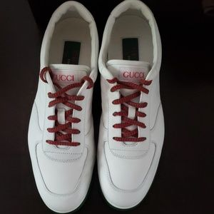 fe711264f61 Gucci Shoes - Gucci 1984 30th Anniversary Collection White Leath